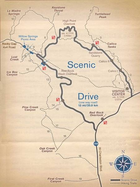 Red-Rock-Canyon-Trail-Map